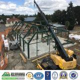 Almacén de la construcción del punto bajo - formación de la estructura de acero