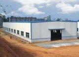 Edificio prefabricado de la estructura de acero para la producción