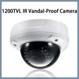 caméra de sécurité à l'épreuve du vandalisme de dôme de télévision en circuit fermé de lentille de 1200tvl IR Varifocal (D21)