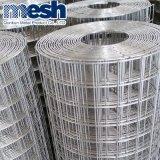 Enduit de PVC de treillis métallique soudé