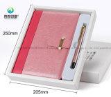 安く新しいデザインさまざまなノートのギフトはペンとセットした