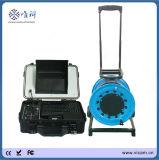Erstklassige CCTV-Videokamera-Systems-tiefes Wasser-Vertiefungs-Inspektion-Kamera mit 80m dem weichen Kabel