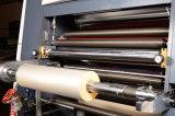 Machine feuilletante de film thermique à grande vitesse de Full Auto pour le papier de feuille (XJFMK-120)