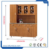 Tipo gabinete de India de cozinha personalizado armário do PVC da combinação da cozinha do MDF