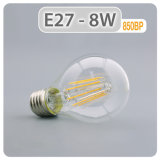 Filament lampe LED 4W 6W 8W E27 A60 Lampe à incandescence LED