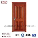 安い内部PVCドア、メラミンボードが付いているMDFの木のドア