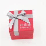 Восхитительная чувствительная коробка кольца бархата с смычком тесемки (J86-AX)