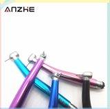 Turbine dentaire à grande vitesse de bouton poussoir coloré chaud de vente