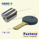 Coches de alta seguridad del cilindro de cerradura de contacto