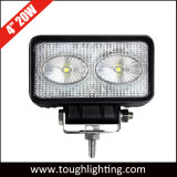 4 pulgadas cuadradas 2pcs*10W LED CREE Alquiler de luz LED de trabajo 20W Offroad