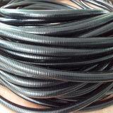 Conduits en acier de métal flexible avec l'enduit gris de PVC