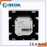 Regulador de temperatura programable del termóstato del sitio de Digitaces de la pantalla táctil con electricidad