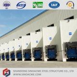 Sinoacmeはエチオピアの鉄骨構造の倉庫を組立て式に作った