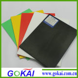 Placa da espuma do PVC de muitas cores com branco e outras cores