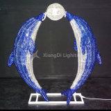 Motiv-Licht des Delphin-3D wasserdicht für Innenim freienfeiertags-Dekoration