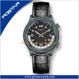 orologio quotidiano di modo del movimento del quarzo di Ronda di tempo del mondo 24h
