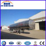 30000-80000 알루미늄 연료 탱크 트레일러 리터, 반 유조선 트레일러