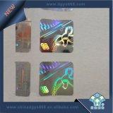 Holograma de Material Pet Etiqueta de Segurança de laser