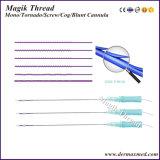 Linha de levantamento antienvelhecimento de Pdo da agulha da sutura de Pdo da linha de Magik