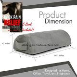 Het Hoofdkussen van de Knie van de Rust van de Voet van de Hulp van de Pijn van het Geheugen van de halve cirkel