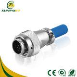 Plugue ao ar livre do conetor de bateria do fio do indicador do diodo emissor de luz da tela de baixa frequência do painel