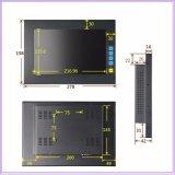 Lage Kosten Monitor van PC van het Comité van het Scherm van de Aanraking van het Frame van 10 Duim de Open Capacitieve Industriële