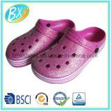 きらめきデザインエヴァの男女兼用の庭の靴
