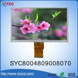 "7"" TFT color LCD de 800x480 puntos pantalla LCM Syc8004809008070 Módulo con CI Ili6128 o Ili5960"