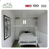 Los diseños de 80 metros cuadrados prefabricados modulares de acero de la luz de la Casa Villa for Indian