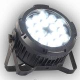 Het Openlucht LEIDENE van de Levering 18PCS 15W RGBWA RE van Facotry van de Verlichting van het stadium 6in1 PARI kan aansteken