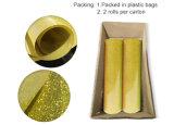 La qualité de la Corée Gamrnt Glitter réfléchissant holographique Flex Vinyle de transfert de chaleur