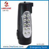 Una lanterna ricaricabile portatile dei 10 LED