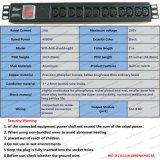 Type PDU universelle de Module du CEI de 19 pouces et de crémaillère de réseau de plot