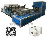 Linha de produção Maxi automática cheia do papel higiénico do rolo