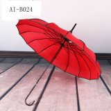 De promotie Paraplu van de Bevordering van de Regen van de Pagode van het Kant van Volwassenen Multi-Layer Rechte