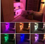 iluminação de tira do diodo emissor de luz de 4X 35cm 12V RGB sob o jogo da luz do indicador da prateleira do gabinete do armário da cozinha