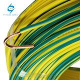 H07V-Rの単心の50のmm2 PVCによって絶縁される黄色/緑ケーブル
