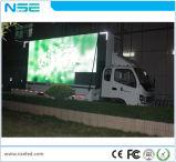 P10 im Freien mobiler Miet-LKW LED, der Zeichen bekanntmacht