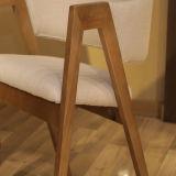 Venta caliente único y confortable silla de comedor de madera (D23)