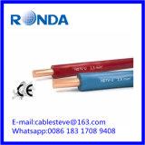 cabo de fio elétrico contínuo 1.5 SQMM do PVC