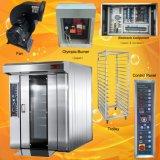 Equipamento giratório Diesel personalizado do forno da cremalheira para o preço da padaria