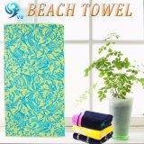 正方形の柔らかさの井戸の印刷のビーチタオル