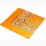 Carré de coton Paisley Imprimer foulard Bandana mouchoir Chef d'enrubannage
