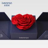 Flor natural verdadera de Rose de la promoción del tacto para el cumpleaños de la tarjeta del día de San Valentín
