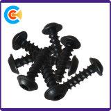 L'acier au carbone/4.4/8.8/10.9 Zinc noir vis autotaraudeuses à tête cylindrique avec rondelle