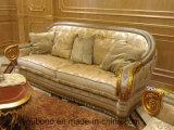 Sb55 de madera maciza estilo real clásico Sofá de tela