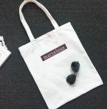 カスタマイズされたロゴのトートバックの綿、再使用可能なショッピング・バッグ、キャンバスのショッピング・バッグ