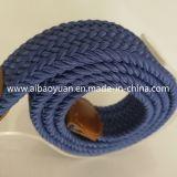 Чистый цвет удобного ношения текстильной эластичную ленту ремня безопасности