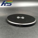 2018 10W ЭПС Ультратонкие 6 мм для настольных ПК Mini быстрый беспроводной связи стандарта Qi зарядное устройство для iPhone