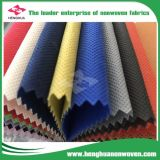 Tela colorida del Non-Woven de Fujian de la tela de los PP Spunbond del surtidor